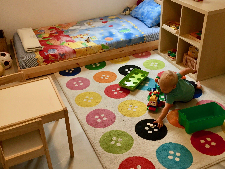 Come Fare Bidet A Letto cameretta montessori 12-18 mesi (+home tour) - la tela di